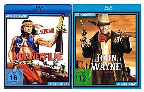 Die große Western - und Indianerfilme Selection (35 Filme) [2 DVDs]