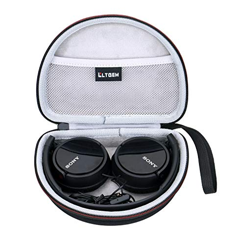 LTGEM EVA Hard Case for Sony MDRZX110NC & MDRZX110AP Noise Cancelling Headphones Travel Protective Carrying Storage Bag