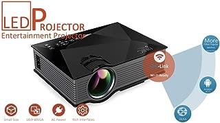 Inglis Lady Appliances Wi-Fi Ready Uc 36 Portable Multimedia Hd Mini Led Projectors Private Home Theater Cinema Zx3996