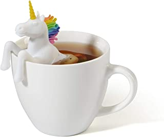 Unicorn Modelling Safe And Non-toxic Silicone Tea Infuser Strainer Tea Filters - Cute Gift For Tea Lovers (Unicorn)