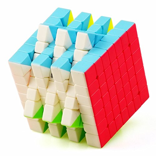 CuberSpeed QiYi QiXing S 7x7 Stickerless Bright Magic Cube MoFangGe MFG QiXing S Color Speed Cube