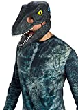 Rubie's Jurassic World Fallen Kingdom Velociraptor-Blue Movable Jaw Adult Mask