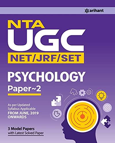 NTA UGC Net Psychology Paper II 2019