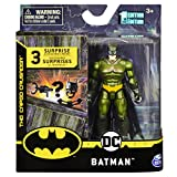 DC Batman 2020 Batman (Walmart Exclusive Green Costume) 4-inch Action Figure by Spin Master