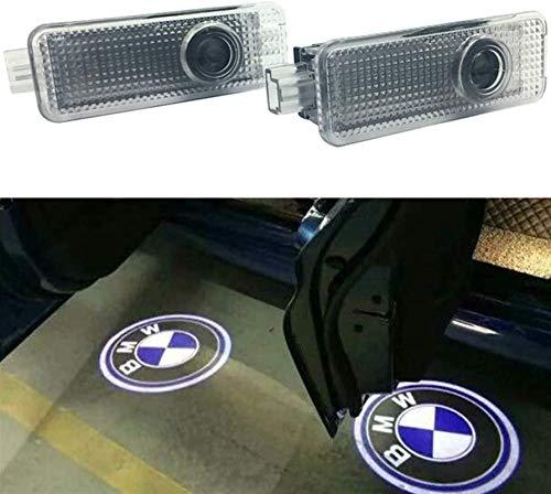 2pcs Autotür Led Logo Projektor Licht, Autotür Signalleuchte Projektor Licht Geisterschatten Willkommenslichter Symbol Courtesy Lights Bodenleuchte Für BMW E91 E92 E93 M3 E60