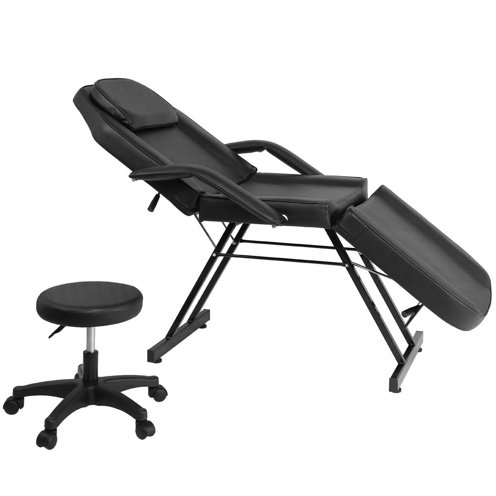 COZYSWAN Massage Salon Chair Ta 3-Section Adjustable Cheap mail order specialty store Max 55% OFF Bed