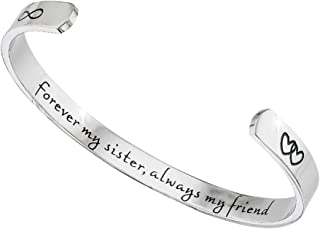 Best silver sister bracelet Reviews