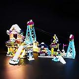 BRIKSMAX Kit de Iluminación Led para Lego Friends Estación de esquí Telesillas,Compatible con Ladrillos de Construcción Lego Modelo 41324, Juego de Legos no Incluido
