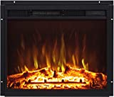 AFLAMO LED 60 - Inserto para chimenea eléctrico - Tecnología LED de ahorro de energía - Control remoto - llama ajustable