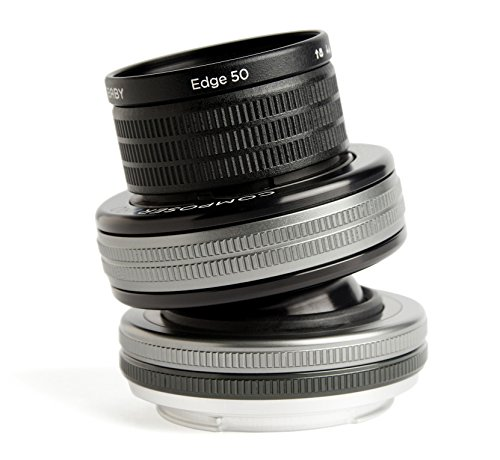 Lensbaby Composer Pro II inkl. Edge 50 Sony E/ schwenkbares Tilt-Objektiv / ideal für selektive Schärfeeinstellungen umrandet mit sanfter Unschärfe / Brennweite 50 mm, Blende f/3,2 / 20 cm Naheinstellgrenze / passend für Sony Systemkameras und Spiegelreflexkameras