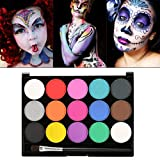 Make-up, children's make-up 15 different colors Professional palette Ideal for children, parties, body paint ing Halloween make-up