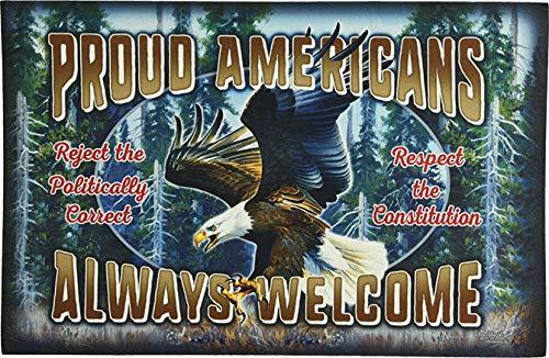River's Edge Products Proud American Door Mat