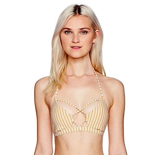 O'Neill Damen Highway Stripe Bikini Top Bikinioberteil, gänseblümchen, X-Large