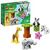 LEGO 10904 DUPLO Süße Tierkinder, Bausteine, Spielzeuge für Kleinkinder im Alter von 2 bis 5 Jahren