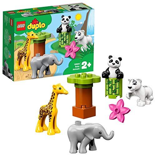 LEGO - DUPLO Cuccioli della savana, Giocattolo per Bambini 2-5 Anni, Idea Regalo, 10904