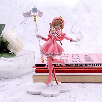 Jin Chuang 16cm Anime Lovely Card Captor PVC Action Figure Models Cardcaptor Magic Wand Girls Cake Decoration Figure Toys Kid Gift
