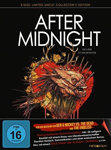 After Midnight - Die Liebe ist ein Monster - Limited Edition - Mediabook (+ DVD) (+ Bonus-Blu-ray) [Alemania] [Blu-ray]