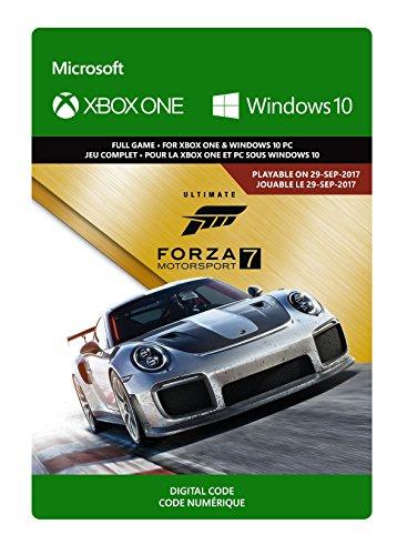 Forza Motorsport 7 Édition Ultimate | Xbox One/Windows 10 - Code jeu à télécharger