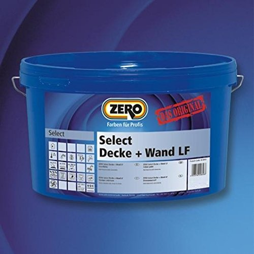ZERO Select Decke + Wand LF weiß NEU 5 l