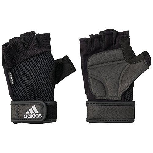 adidas Herren Trainingshandschuhe Handschuhe, Schwarz/Silber, S