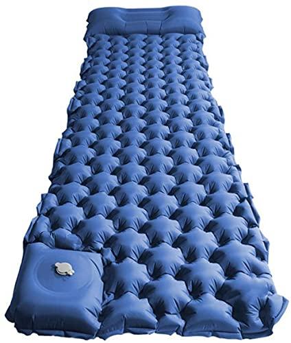 Colchonetas de dormir ultraligeras portátil al aire libre Camping Mat a prueba de humedad tienda dormir Mat pie inflable