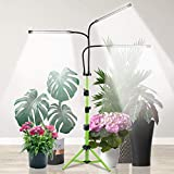 Grow Light with Stand, 5500K Tri-Head Plant Light for Indoor Plants, Sunlight...