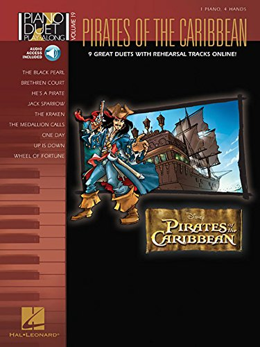 Pirates of the Caribbean: Noten, CD, Sammelband für Klavier (2) (Piano Duet Play-along, Band 19)
