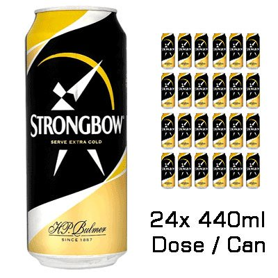 Original Strongbow Cider 24x440ml