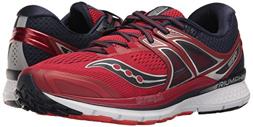 Saucony Triumph Iso 3, Running Homme, Multicolore (Grey/black/lime), 41 EU