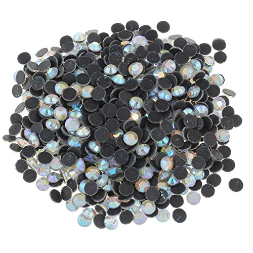 7200 vidrio HotFix piedras de Strass cristal rhinestone 3 mm SS10 AA grade 403