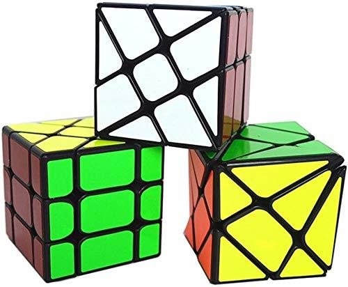 ccfgh Conjunto de 3 Pack Cubo mágico
