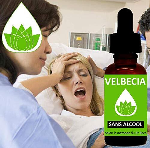 Bachblüten Schwierige Geburt OHNE ALKOHOL Velbecia 30 ml, ermöglicht es Ihnen zu vermeiden, von Schmerzen überwältigt zu werden