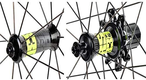 WYJW 700c Llanta de aleación Bicicleta Doble Pastillas de Bicicleta de Carretera Pinza de Freno Rueda de Bicicleta de 30 mm Rodamientos sellados Liberación rápida 32H Delantero 2 Traser