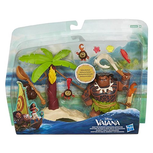 Hasbro C0146EU4 - Vaiana Little Kingdom kleines Spielset