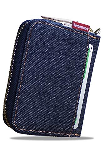 [NeedNetwork]カードケース 岡山デニム カード入れ スキミング防止 大容量 じゃばらクレジットカードケース