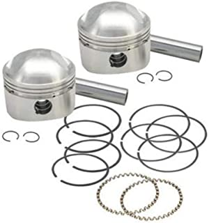S&,S Cycle S&S Cycle Forged Stock Bore Stroker Piston Kit, 3.437