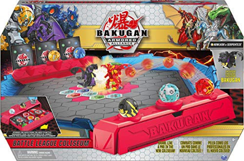 Spin Master Bakugan Armored Alliance: Battle League Coliseum - Howlkor x Serpenteze (20125870)