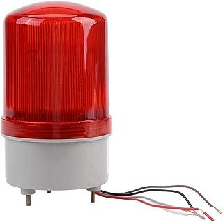 Luz de Advertencia Luces Estroboscópicas Intermitentes LED Rojo Luz de Advertencia de Emergencia Bombilla Lámpara de Baliza Giratoria Para El Hogar Villa Granja Apartamento Patio Exterior Fábrica