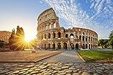 Rom Kolosseum Italien XXL Wandbild Kunstdruck Foto Poster