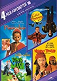 4 Film Favorites: Family Comedies (The Adventures Of Pinocchio / Little Vampire / Son of the Mask / Monkey Trouble)