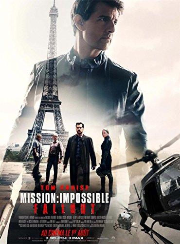 Affiche Cinéma Originale Grand Format - Mission Impossible : Fallout (Format 120 x 160 cm pliée)