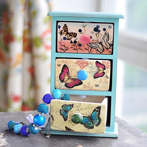 keramische opbergdoos desktop kleine kasten cosmetische sieraden doos Koptelefoon dressoirs kasten