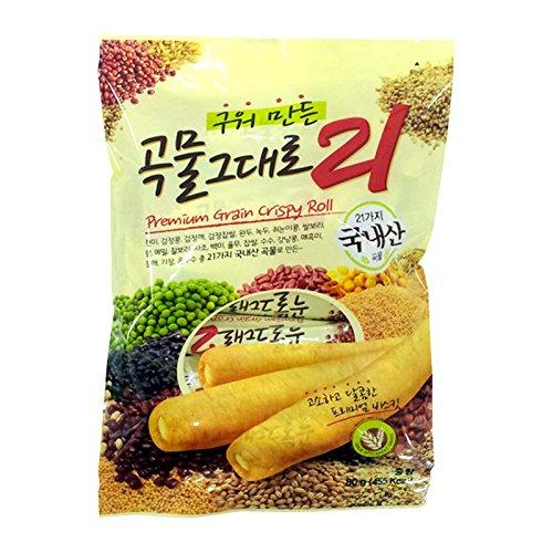 Korean Premium Multi Whole Grain Baked Crispy Rolls 180g