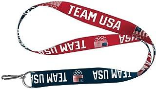 Wincraft Olympics USOC Team USA Lanyard Key Chain, 20
