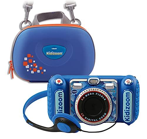 Vtech 80-520094 80-520094-KidiZoom Duo DX inkl. Tragetasche blau...