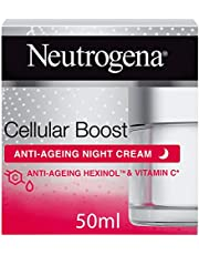 نيوتروجينا، كريم للوجه، تعزيز للخلايا، كريم ليلي مقاوم للشخوخة، 50 مل