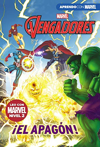 Los Vengadores. ¡El apagón! (Leo con Marvel - Nivel 2