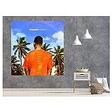 LYWUSUZE Frank Ocean Channel Orange Poster Album Cover Music Art Print Canvas Home Poster Office Decor Gift idea -70x70cm No Frame