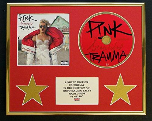 Rosa/CD-Display, Limitierte Auflage, Coa/Schönes Trauma