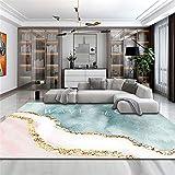 Hogar Dormitorio Simple Alfombra Rectangular Sala De Estar Sofá Mesa De Centro...